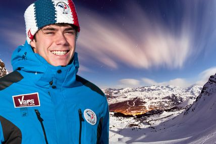 La Provence Les Alpes - Article : Simon Billy prêt à battre le record du monde de ski de vitesse