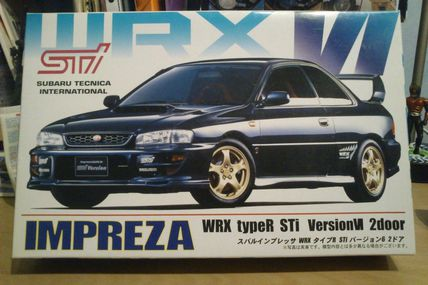 Subaru Impreza WRX STi coupe 99 n°1 (déc/14)