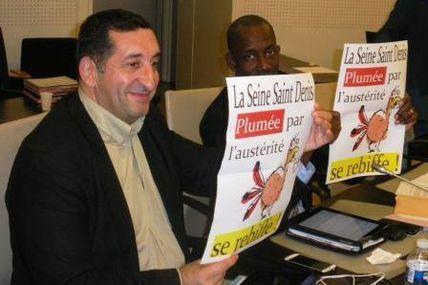 Les plumés de l'austérité se rebiffent !, Michel BOURGAIN Maire de L'Île-Saint-Denis et Azzedine TAÏBI Maire de Stains (Libération 26/11/2014)