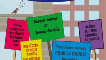 Face aux dégâts de l'austérité, les travailleurs sociaux européens accusent et s'organisent.