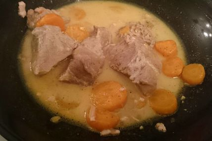 Blanquette de veau à l'orange au cookeo
