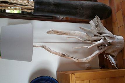 Lampadaire en bois flotté (commande)