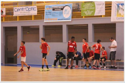 PONTAULT-COMBAULT vs THBMLV (AMICAL LIFE -15) 20.09.2014