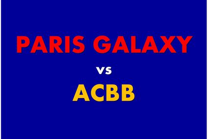 "Tournoi ""Hand-Expert"" - 26.04.2015 (-18M) ACBB vs PARIS GALAXY"