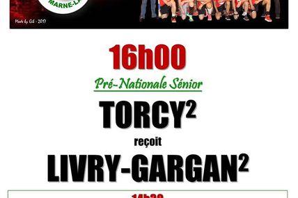 THBMLV 2 vs Livry-Gargan 2 (Pré-Nationale) 26.03.2017
