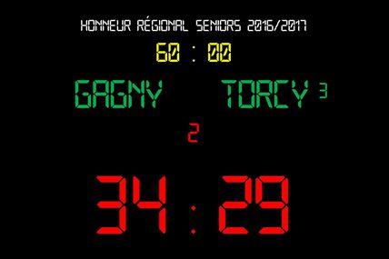 Gagny vsTHBMLV 3 (Honneur Régional Sénior - 25.03.2017)