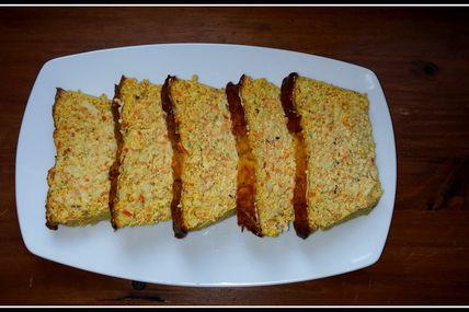 Terrine de surimi (carotte et courgette)