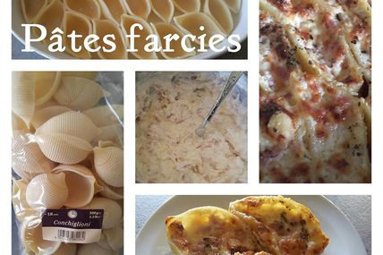 CONCHIGLIE JAMBON - FROMAGE