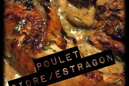 Poulet Cidre/Estragon