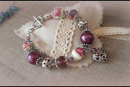 Collection Bracelets Baroques Romantiques