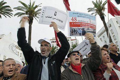 Violation des droits de l'homme à l'occasion du Forum Mondiale des Droits de l'Homme au Maroc