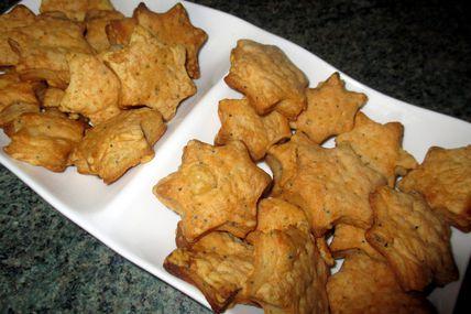 Comment faire mes petits biscuits apéritifs