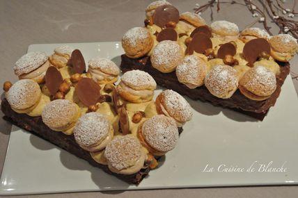 Paris Brest façon Entremet - La cuisine de blanche.over-blog.com