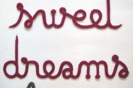 Le weekend, ça bricole #9 - DIY Le prénom en tricotin