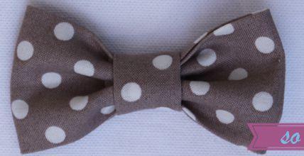 Le weekend, ça bricole! #11 - DIY Le petit noeud en tissu