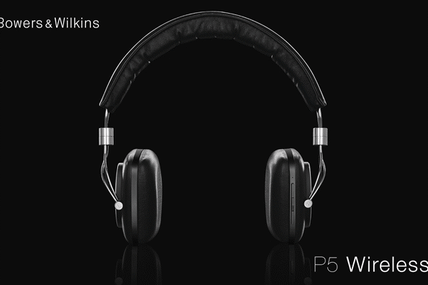 Le premier casque sans fil BW: Le P5 Wireless