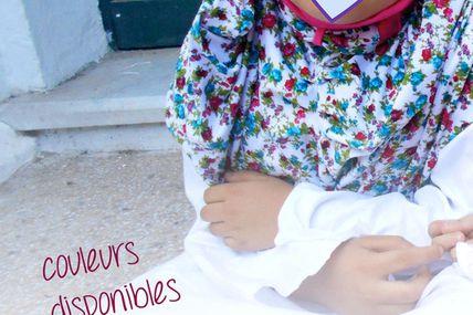 hijab 6 noeud papillon T 2 à 6 ans 5€