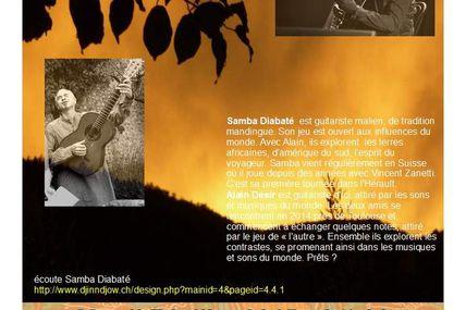 Yeelen en concert - Samba Diabaté et Alain Désir