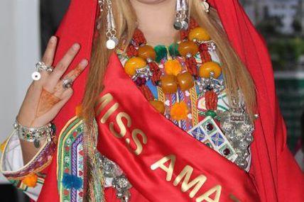 Loubna Chemmak élue Miss Amazigh 2016 (Maroc)