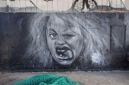 Graffiti au Port