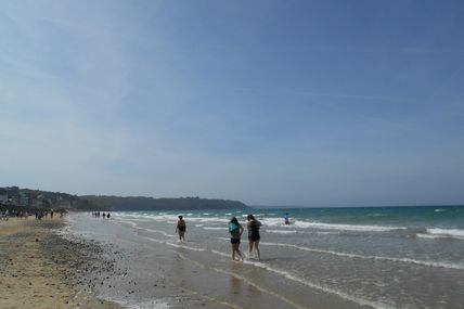 La plage des Rosaires
