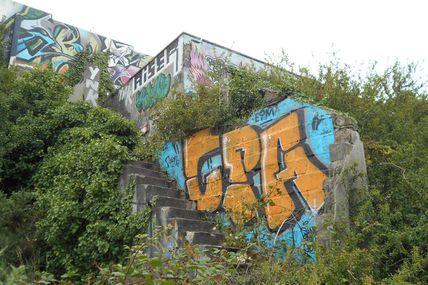 Street Art près de la RN12