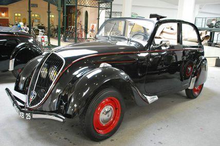 Restauration Peugeot 202 de 1939