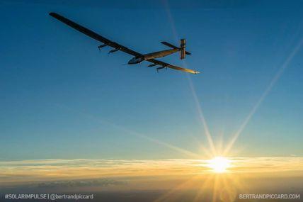 Solar Impulse on the way to Dayton (Ohio) USA - Watch the live!