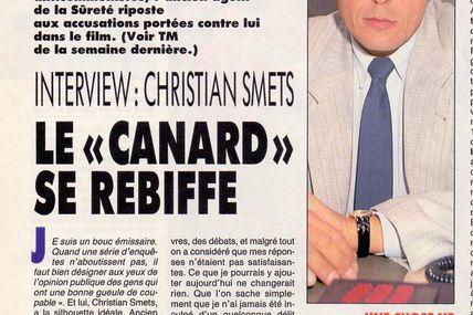 "Christian Smets, Le ""canard"" se rebiffe"