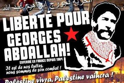 Rappel 3 : meeting pour la libération de Georges Abdallah.