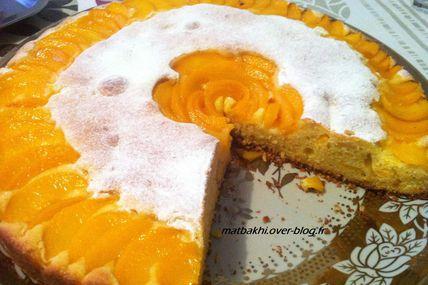 cake aux peches