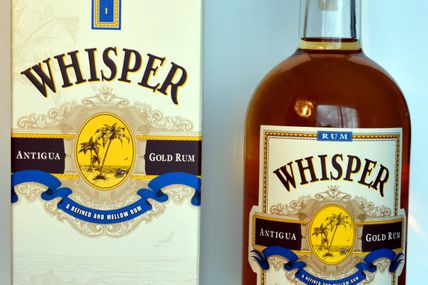 Whisper Antigua Gold Rum