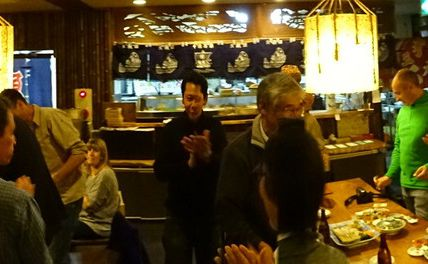 27 mars : dernier dîner à Takamatsu