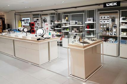 Lick investi les Galeries Lafayett Homme à Paris et à Bordeaux