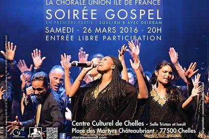 Concert à Chelles (77) 26 mars 2016