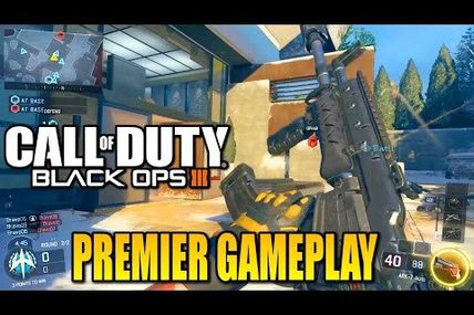 Gameplay black ops 3 une tuerie!!