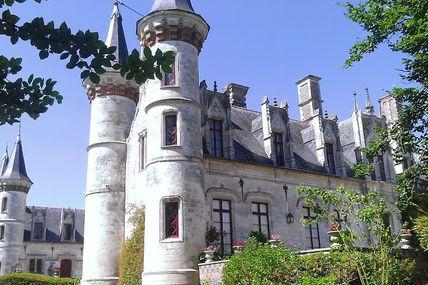 Promenade au château de Régnière Ecluse (80)
