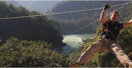 Zipline Adventure Activity in Rishikesh / Krishna Holidays