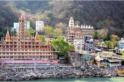 Laxman Jhula is one of the main religious attractions and landmark of Rishikesh / Krishna Holidays