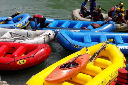 Rishikesh is White Water Rafting / Krishna Holidays