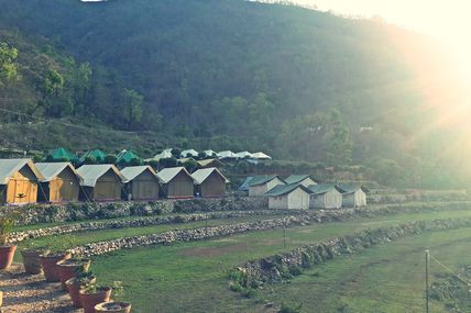 """Camping Adventure Sports in Rishikesh""/ Krishna Holidays"