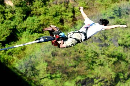Bungee Jumping Adventure in Rishikesh/ By Krishna Holidays
