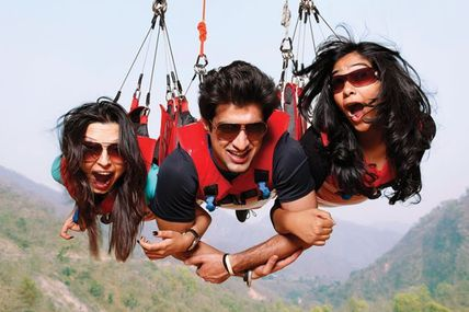 """Flyingfox Adventure Sports in Rishikesh""/ By Krishna Holidays"