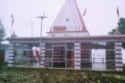 Rainy Weather at the Kunjapuri Temple in Rishikesh..