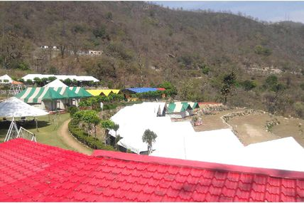 Vatika The Luxury Camp In Rishikesh...