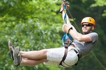 Fly with the Birds,, Enjoy Zipline in Rishikesh..