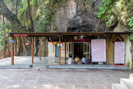 Beauty of the Vashishta Cave in Rishikesh.