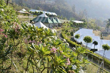 Beautiful Camp Site in Rishikesh.