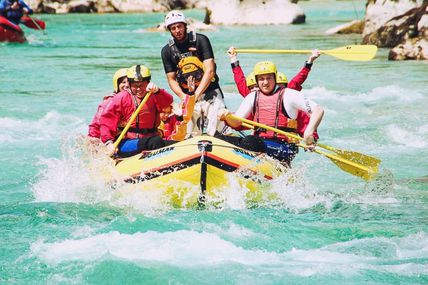 Thrilling Experience of White water Rafting in Rishikesh.