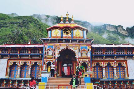 Badrinath Temple in Uttarakhand.